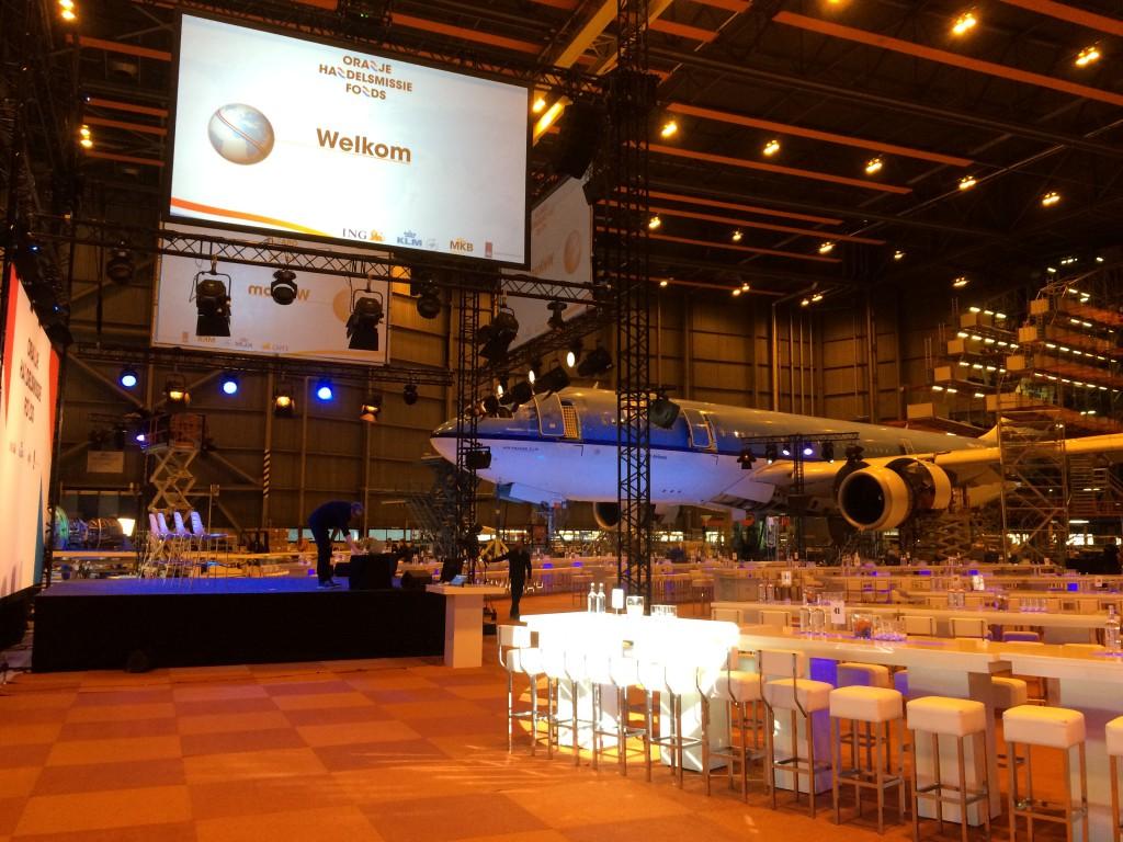 Ronnie Overgoor - Oranje Handelsmissiefonds 2015 - Hangar 12 - Schiphol