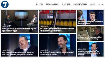 7 Ditches TV homepage februari 2016